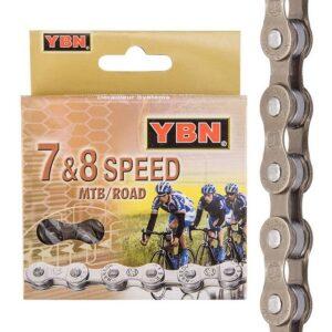 Цепь YBN S52 на 6/7/8 скоростей