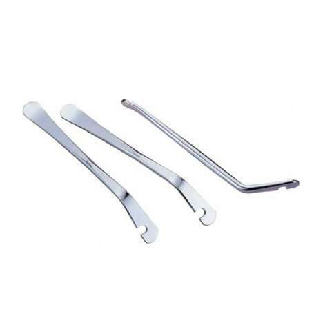 Бортировочная лопатка метал - 1 шт