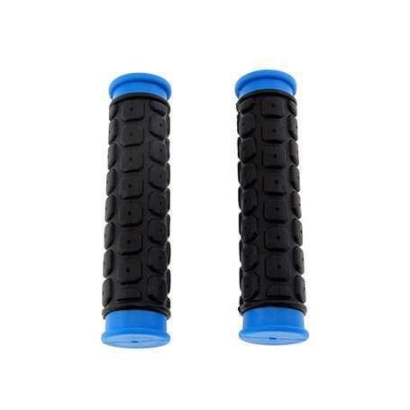 Грипсы HW145267 L-125 (черно-синие)
