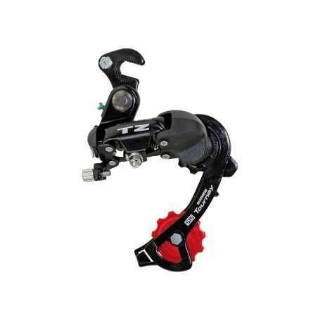 Переключатель задний SHIMANO RD-TZ50 (крюк) (чёрный)