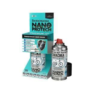 Велосмазка NANO Protech спрей-смазка универсальная 210 мл.
