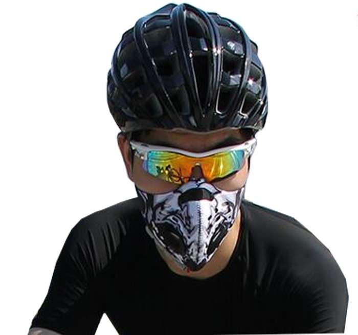 маска и очки для велосипеда