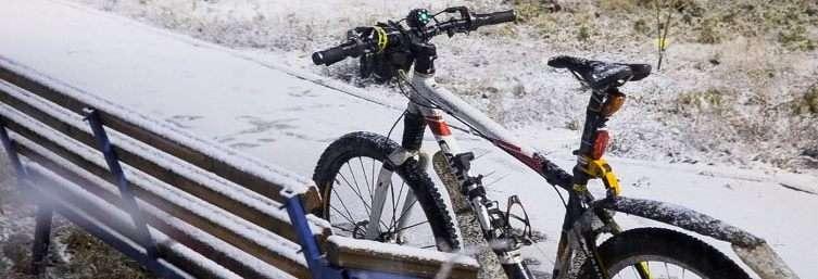 Зимняя резина на велосипед и её особенности