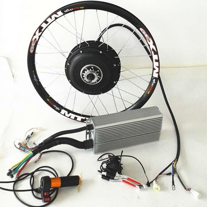 Мотор-колеса, комплектующие, электровелосипеды
