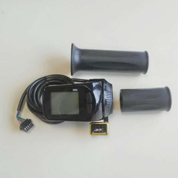 Ручка аксерелатора курковая с LCD дисплеем 48V