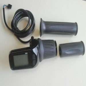 Ручка аксерелатора грипшифт с LCD дисплеем 48V