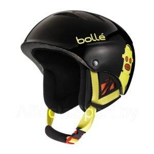 Шлем горнолыжный BOLLE B-KID SHINY BLACK ROBOT