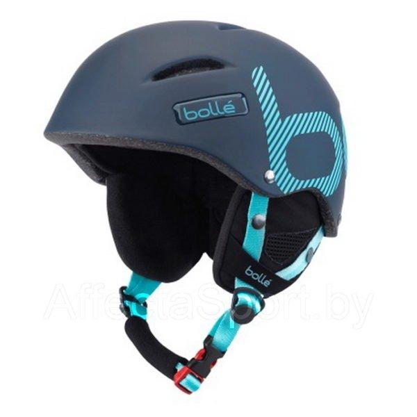 Шлем Bolle B-Style SOFT NAVY & MINT STRIPES