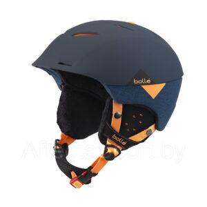 Горнолыжный шлем Bolle Synergy Soft Navy & Orange