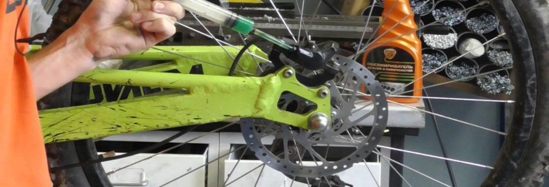 Как производится техническое обслуживание велосипеда