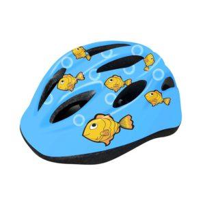 Шлем велосипедный детский Cigna WT-021 (чёрный/голубой)