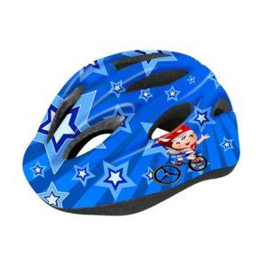 Шлем велосипедный детский Cigna WT-021 (чёрный/синий)