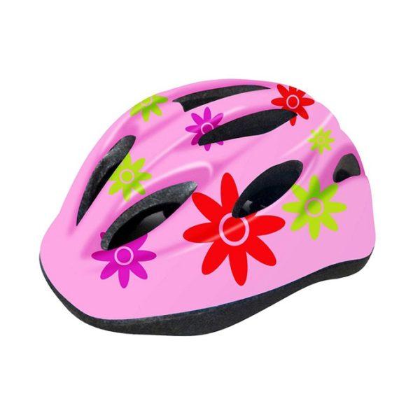 Шлем велосипедный детский Cigna WT-021 (чёрный/розовый)