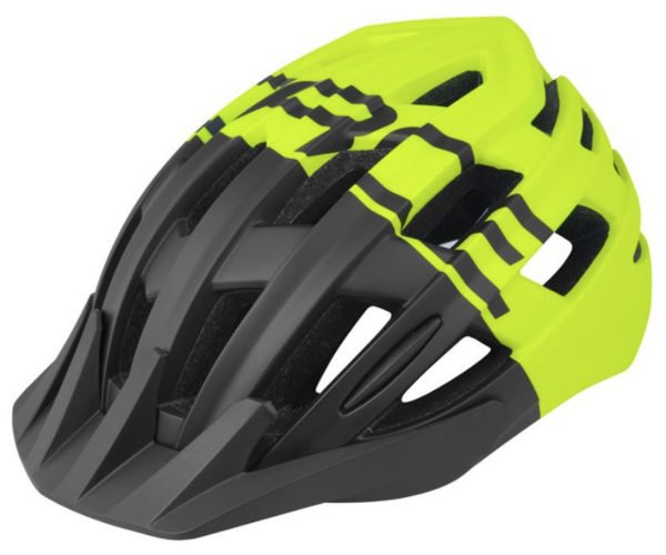 Шлем Force Corella MTB(черн. -желт.)