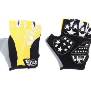 Перчатки JAFFSON SCG 47-0122 S (чёрный/белый/жёлтый); Пакистан