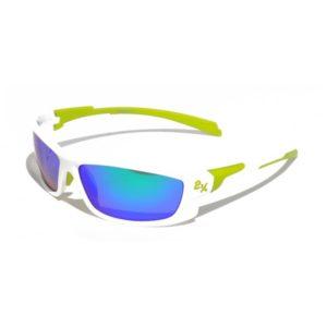Очки солнцезащитные 2K IB-12062 (белый глянец / зелёные revo); Тайвань