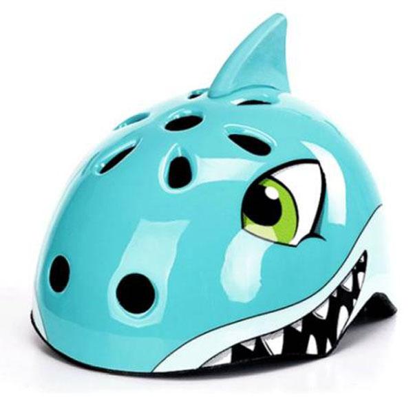 Q090348S Шлем HQBC, SHARKY (акула), синий, р-р 50-54 см.