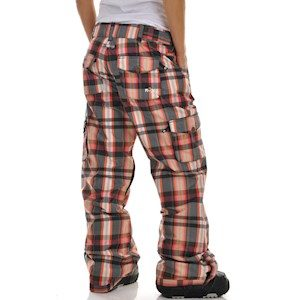 Штаны Roxy Toboggan black plaid (L)