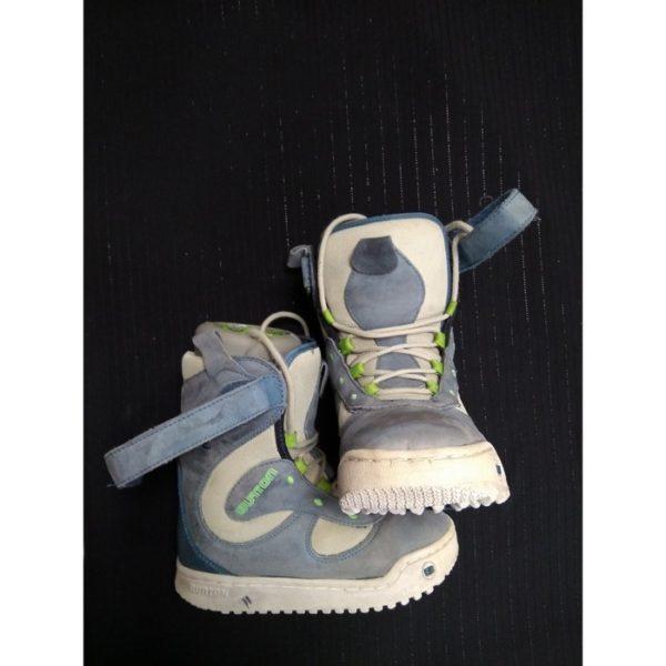 Ботинки детские сноубордические Burton Б/У