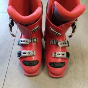 Горонолыжные ботинки Tecnica Alpina Red Б/У