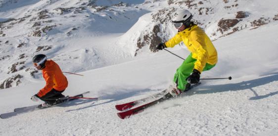 Как научиться кататься на горных лыжах: советы начинающим