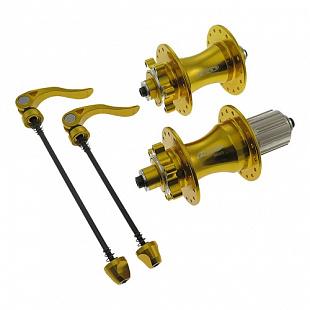 Комплект втулок NECO MS03 (32H/DB/QR/GD) золотой