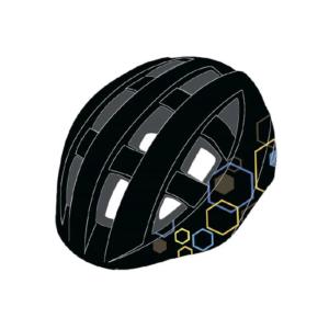 Шлем велосипедный детский Cigna WT-022 (чёрный)
