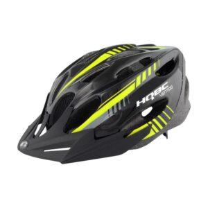 Шлем HQBC, VENTIQO Black/Yellow reflex, р-р 54-58