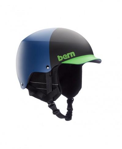 Шлем BERN Baker EPS Matte Blue Hatstyle w/ Crankfit