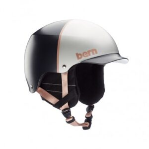 Шлем BERN Baker EPS Satin Silver Hatstyle w/ Crankfit