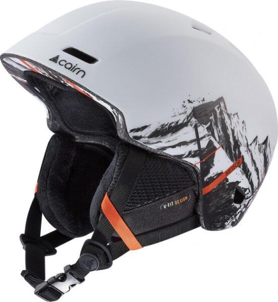 Шлем горнолыжный CAIRN 19-20 METEOR White Mountain