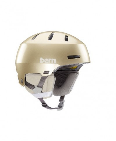 Шлем BERN Macon 2.0 MIPS Matte Champagne w/ Black Liner