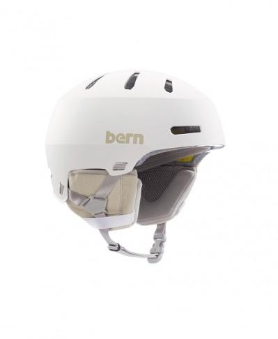 Шлем BERN Macon 2.0 MIPS Matte White w/ Black Liner