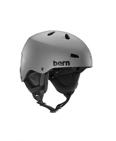 Шлем Bern TEAM MACON Matte Grey/Black Liner