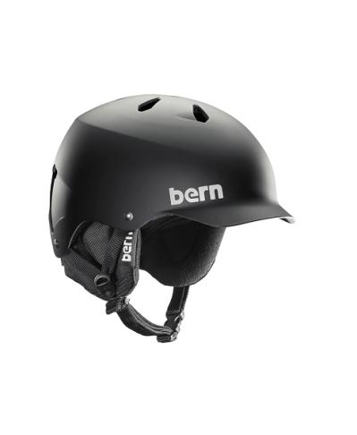 Шлем Bern WATTS 8Tracks Crank fit Matte Black