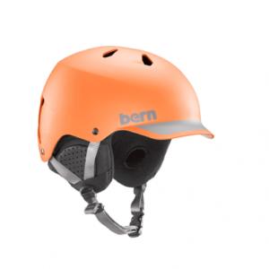 Шлем Bern WATTS Matte Burnt Orange/Grey Trim/Black Liner