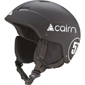 Шлем CAIRN Loc-Active MAT Black White - T57