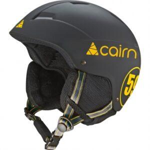 Шлем CAIRN Loc-Active MAT Black Yellow - T59